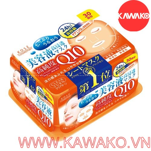 MẶT NẠ KOSE COENZYME Q10 - 30 MIẾNG
