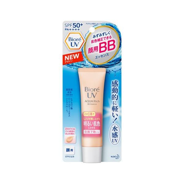 Biore UV Aqua Rich Watery BB Cream For Face Sunscreen SPF50+ PA++++ 33g F/S