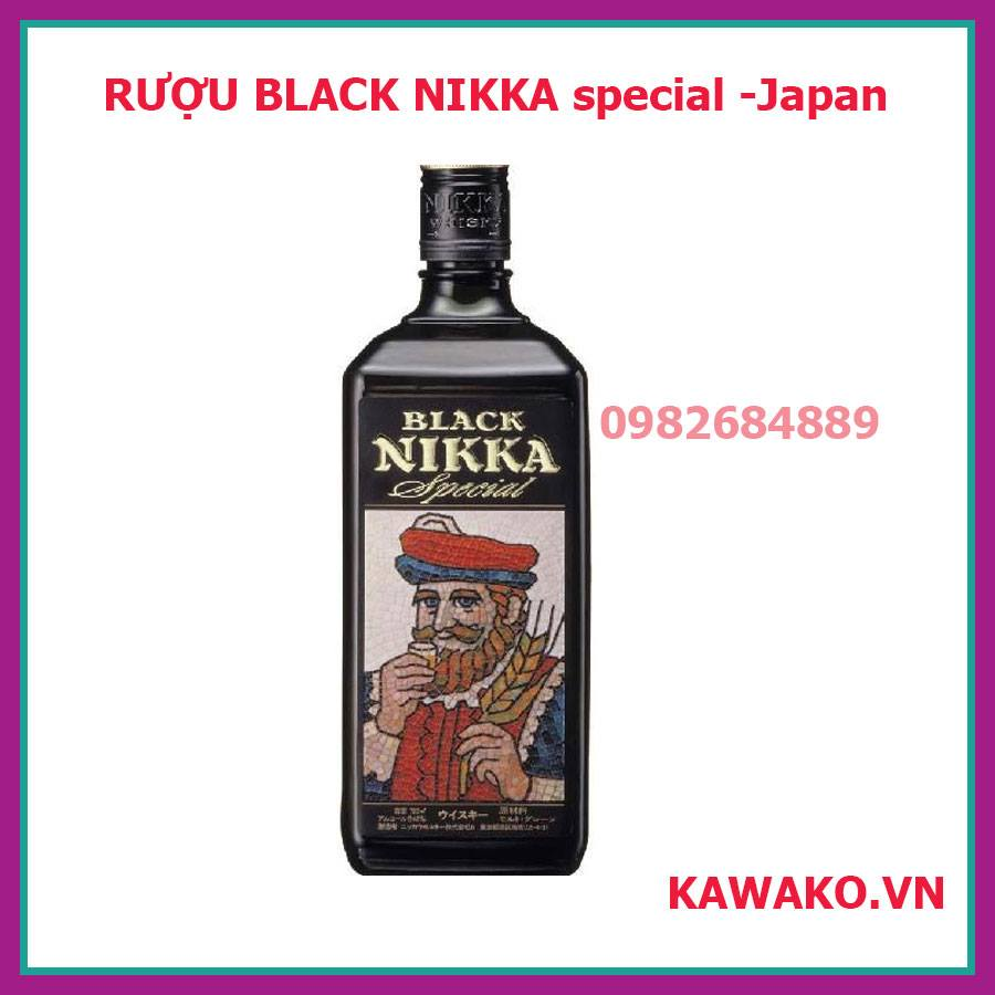 RƯỢU BLACK NIKKA special Japan