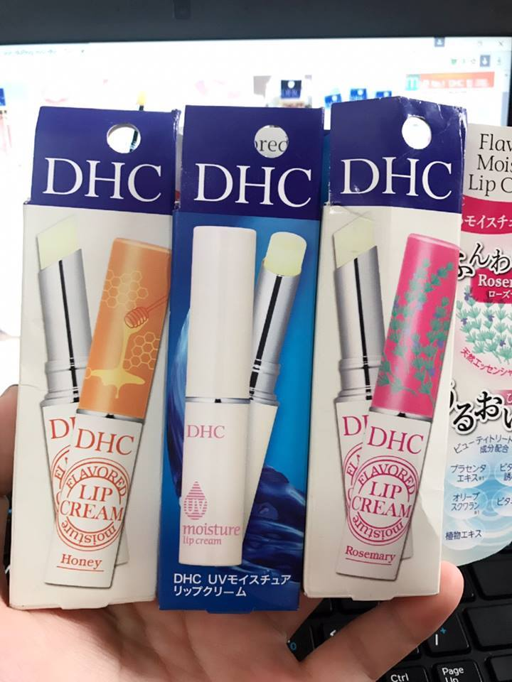 DHC FLAVORED MOISTURE LIP CREAM 💋💋  SALE: 135k./ thỏi