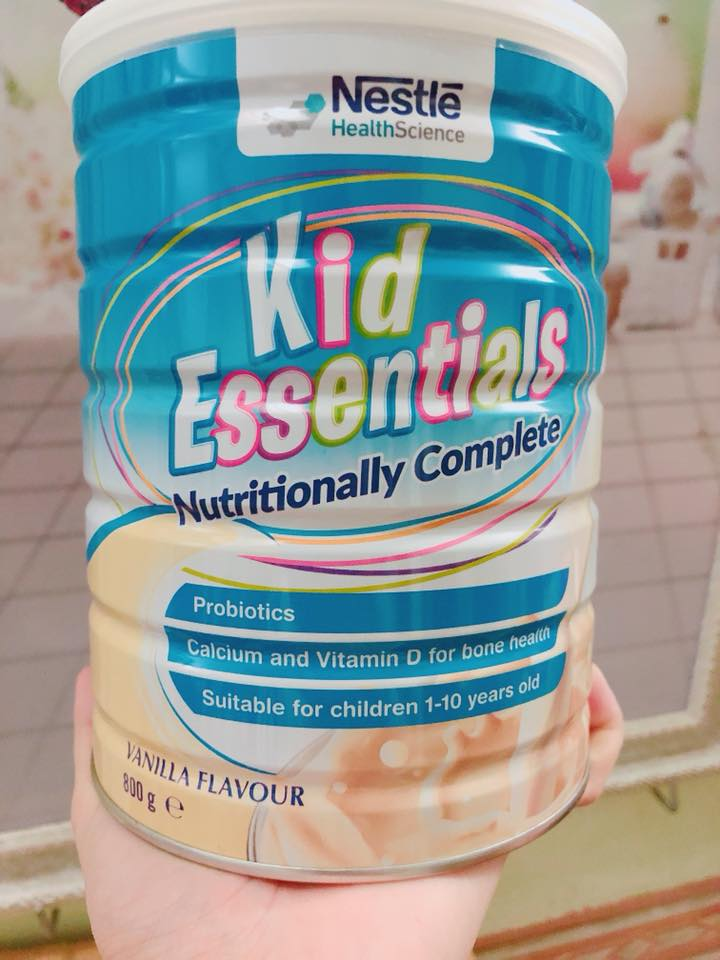 SỮA KID ESSENTIALS  580K/H