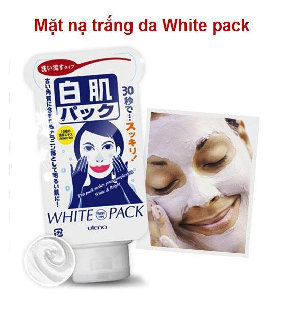 Mặt nạ trắng da White pack