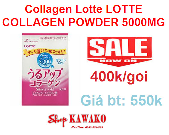 Collagen Lotte LOTTE COLLAGEN POWDER 5000MG